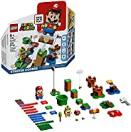 LEGO Super Mario Adventures with Mario Starter Course 71360 Building Kit, Interactive Set Featuring Mario, Bow