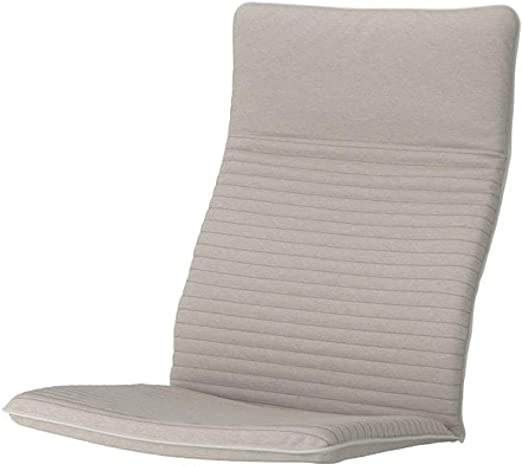 Ikea Poang Coussin de chaise Knisa Beige clair 603.951.45