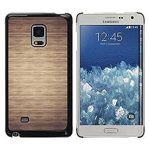 Be Good Phone Accessory // Dura Cáscara cubierta Protectora Caso Carcasa Funda de Protección para Samsung Galaxy Mega 5.8 9150 9152 // Pattern Beige Minimalist Horizontal