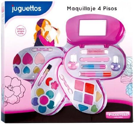 Pasarela Estuche Maquillaje 4 Pisos: Amazon.es: Juguetes y juegos