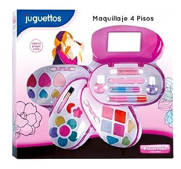 Pasarela Estuche Maquillaje 4 Pisos: Amazon.es: Juguetes y ...
