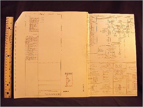 1979 79 lincoln mark v electrical wiring diagrams manual ~original: ford  motor company: amazon com: books