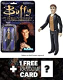 Angel: Funko ReAction x Buffy The Vampire Slayer Action Figure + 1 FREE Official Buffy the Vampire Slayer Trading Card Bundle (042004)