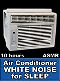 Air Conditioner White Noise for Sleep 10 Hours ASMR