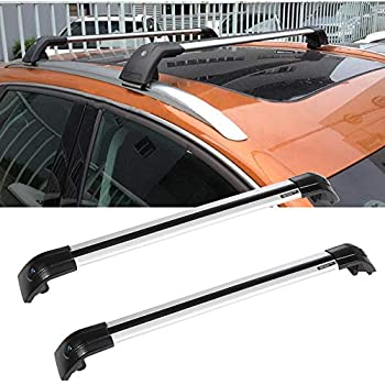 Amazon Com Aintier 2pcs Aluminum Cross Bar Roof Rack