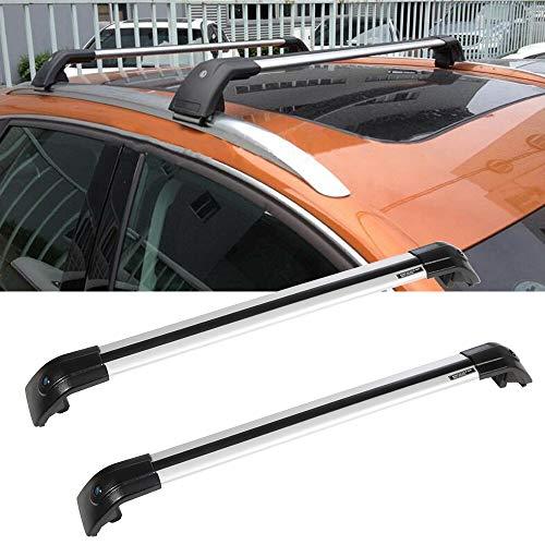 OCPTY Roof Rack Cross Bar Cargo Carrier Fit for 2012-2017 Hyundai Santa Fe,2014-2017 Kia Sorento,2011-2014 Kia Sportage Roof Rack Crossbars