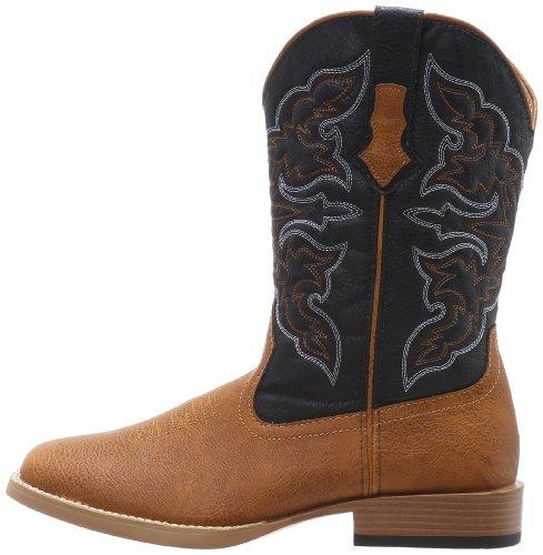 Roper Men's Square Toe Cowboy Boot Tan 11 D - Medium