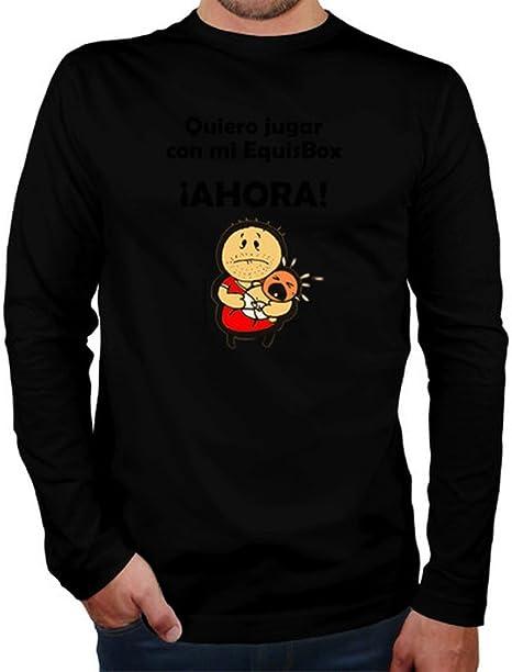 latostadora Camiseta Xbox - Camiseta Hombre Manga Larga Negro Talla M: Amazon.es: Ropa y accesorios