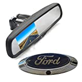 f150 backup camera emblem - Vardsafe | Emblem Backup Camera + Replacement Rear View Mirror Monitor for Ford F150 F250 F350 F450 (2004-2014)