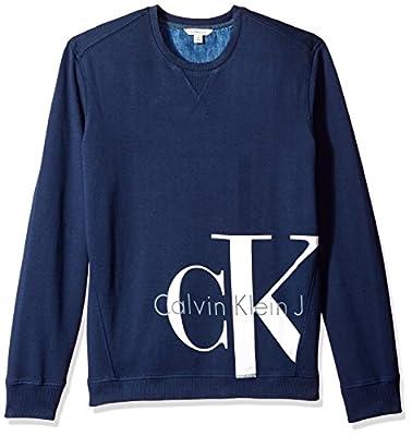 Calvin Klein Jeans Men's Reissue Ck Logo Sweatshirt