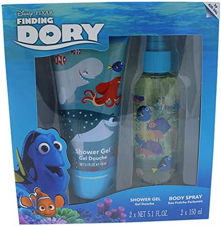 Disney Finding Dory for Kids 2 Piece Gift Set with Shower Gel & Body Spray
