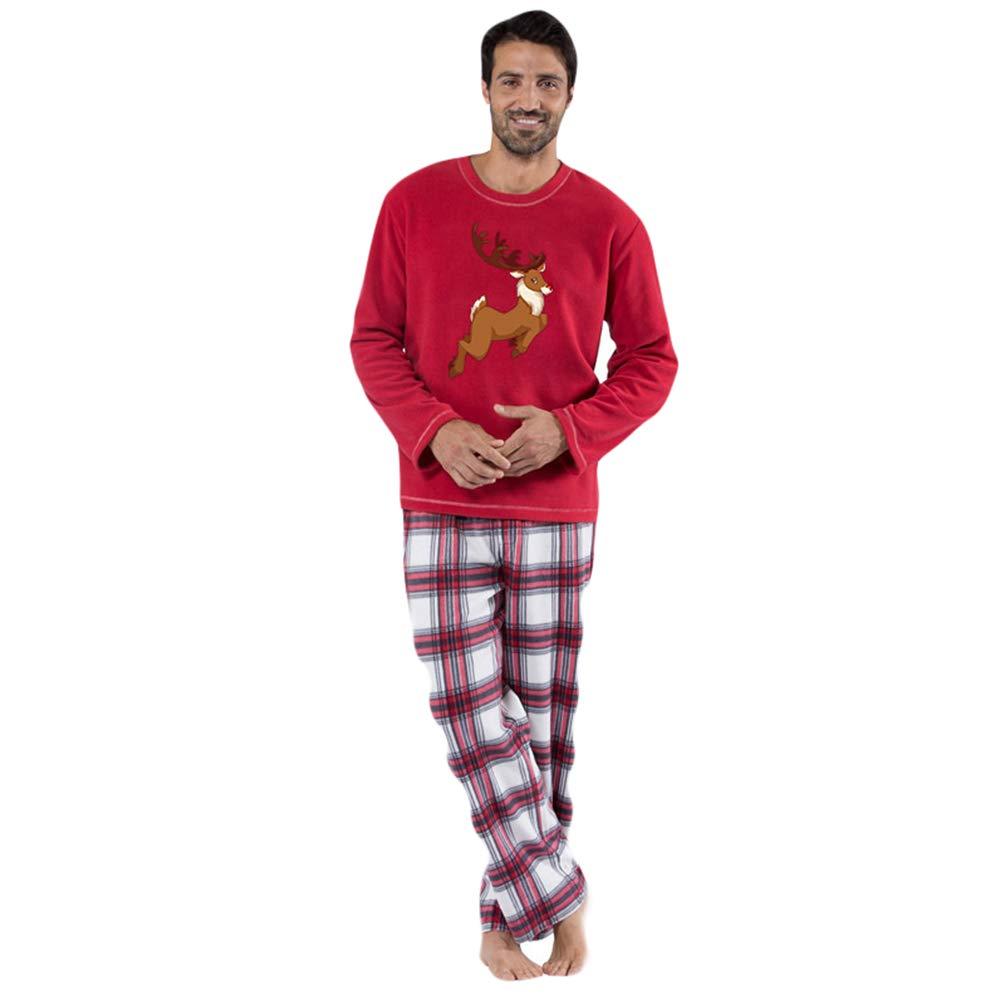 Xinwcang Pyjama fü r die Ganze Familie, Passender Schlafanzug fü r Weihnachten, Pyjama-Set Familie Kleidung Sleepwear