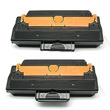 2Packs Shopcartridges® High Yield Toner Cartridges MLT-D103L (MLTD103L) Compatible for Samsung D103L Black