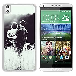 Lover Couple Princess Hold (2) Durable High Quality HTC Desire 816-1 Phone Case