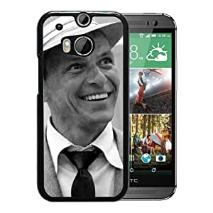 Beautiful Designed Cover Case With Frank Sinatra Smile Suit Tie Hat For HTC ONE M8 Phone Case