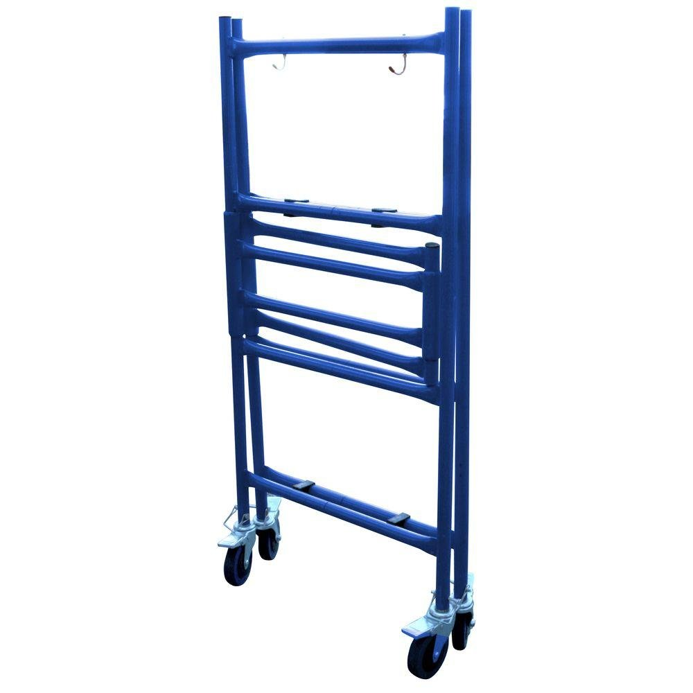 4 ft. Mini Foldable Scaffold Mobile Workbench Storage Cart by Pro-series (Image #2)