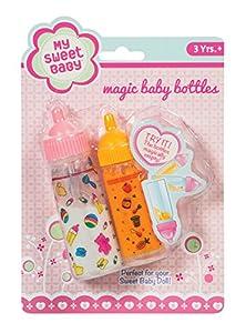 Toysmith Baby Care Sets and My Sweet Baby Magic Baby Bottles Bundle
