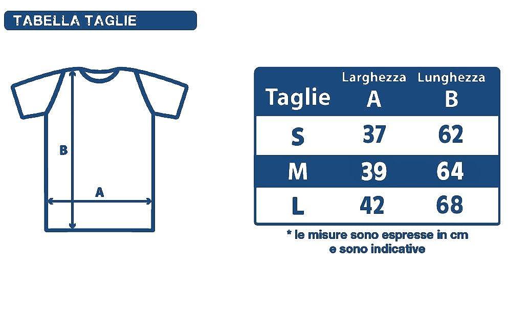 New T-Shirt Donna Fiammata Romeo di Caprio Idea Regalo