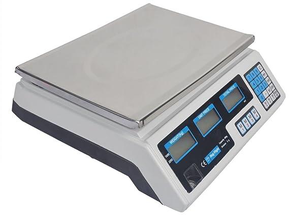 Báscula digital Hug Vuelo® 40 kg Digital Precio de Informática escala electrónica de pesaje de Fruits Home/Tienda: Amazon.es: Bricolaje y herramientas