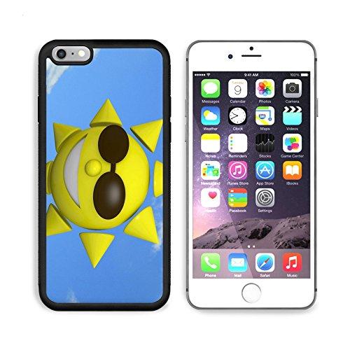 MSD Premium Apple iPhone 6/6S Plus Aluminum Backplate Bumper Snap Case iPhone6 Plus IMAGE ID: 38198138 3d Sun on blue - Review D&y Sunglasses