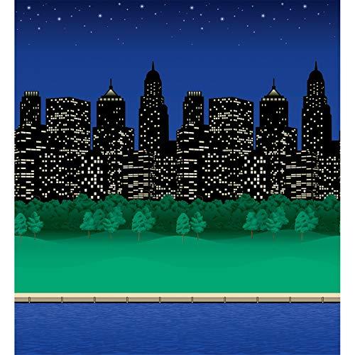 Fadeless PAC56945 Bulletin Board Art Paper, City Lights, 48