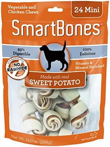 Dog Treats: SmartBones Sweet Potato