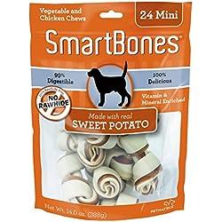 SmartBones Mini Sweet Potato Chews (24 Pack)