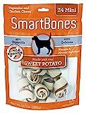 SmartBones Sweet Potato Dog Chew, Mini, 24 pieces/pack