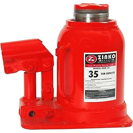 Amazon com: 35 Ton Low Height Hydraulic Bottle Jack: Automotive