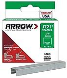 Arrow Fastener 214 Genuine JT21/T27 1/4-Inch Staples, 1,000-Pack