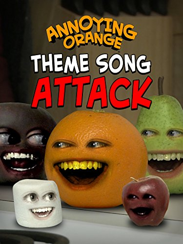 Clip: Annoying Orange - Theme Song Attack -