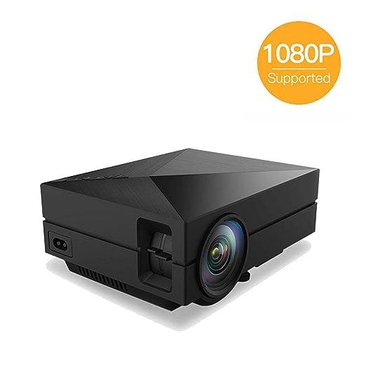 DBSCD Mini-proyector de Video portátil LED, proyector de Cine en ...