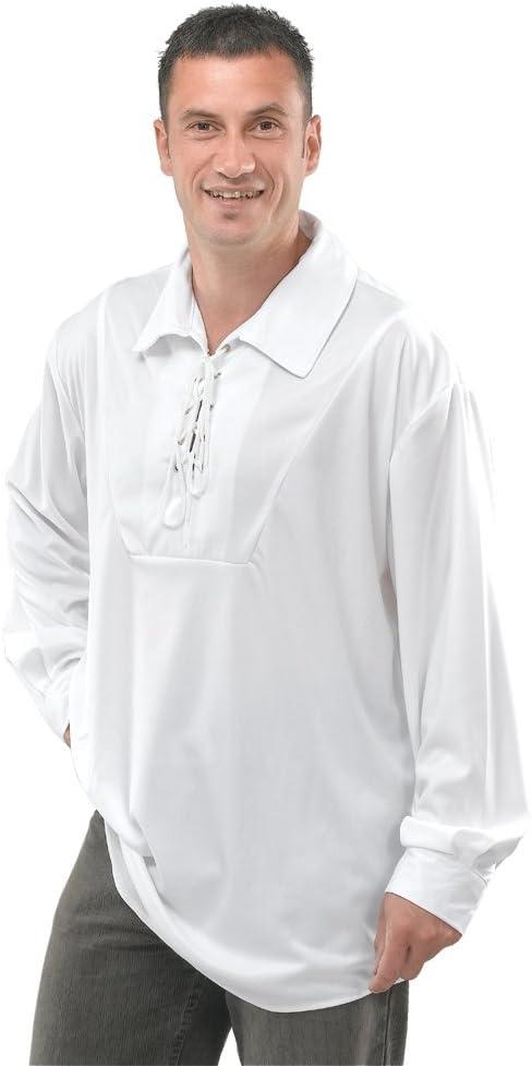 Bristol Novelty AC428 Camisa de Pirata, Blanca, Manufacturer size: 54: Amazon.es: Juguetes y juegos