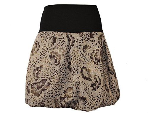 Design Falda Para Gold Mujer Globo Braun Dunkle Schwarz BqTx7wFT
