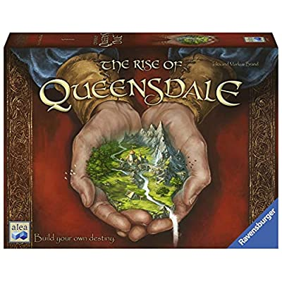 Ravensburger The Rise of Queensdale for Ages 12 & Up - Legacy Strategy Board Game: Toys & Games