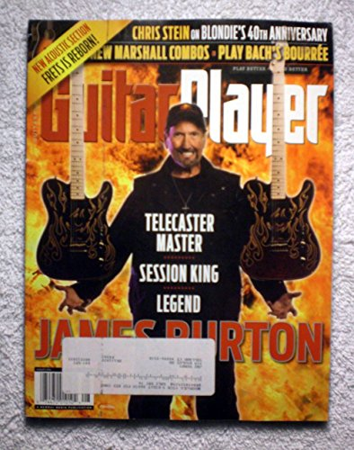- James Burton - Telecaster Master - Session King - Legend - Guitar Player Magazine - August 2014