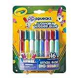 Crayola Pip-Squeaks Washable Glitter Glue 16/Pkg-