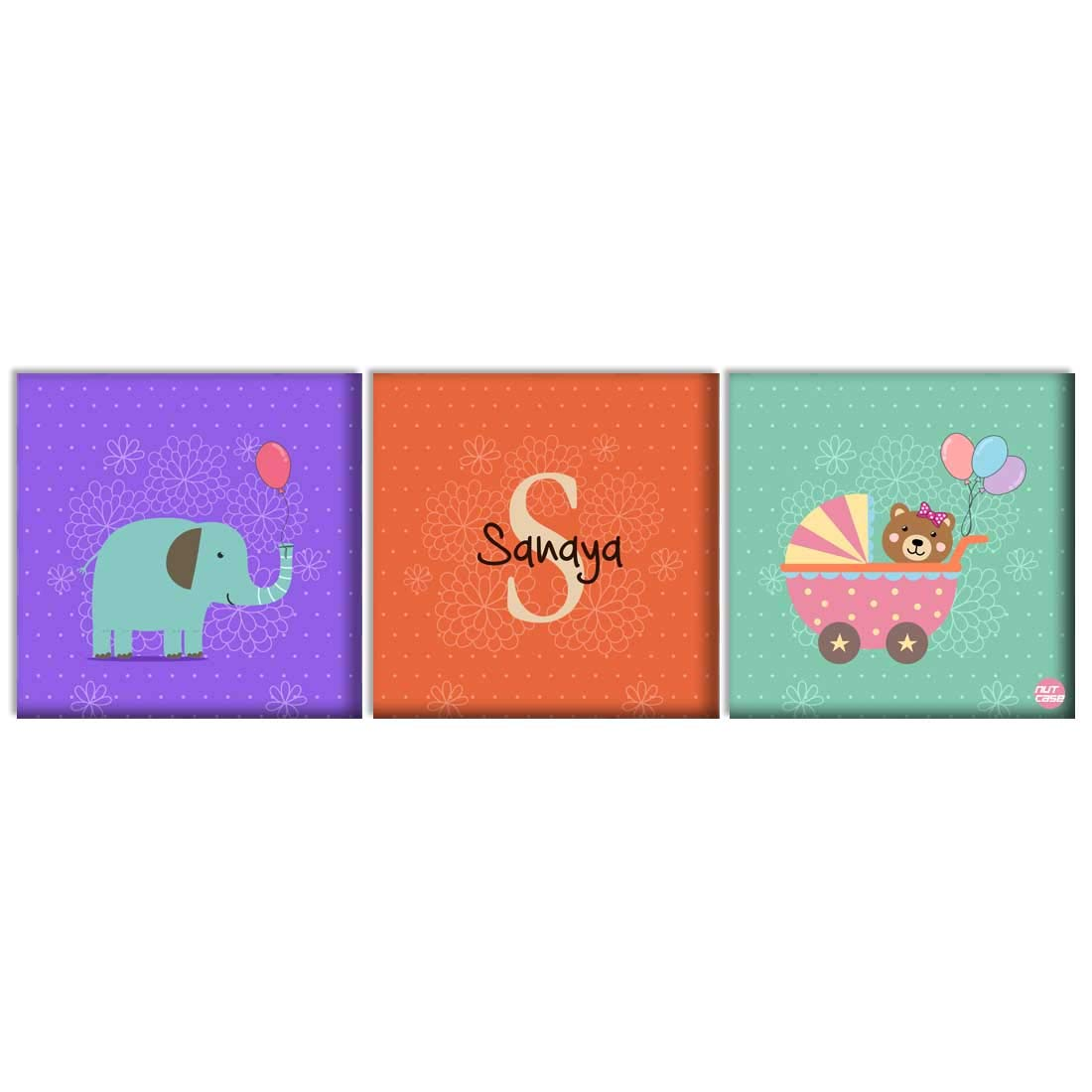 Non Personalised Child Baby On Board Car Sign ~ Baby Elephant ~ Baby Girl