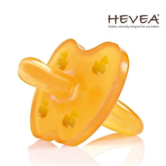 Hevea Chupete 3 - 36 meses//caucho natural//Diseño Pato ...