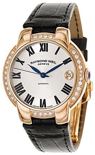 Raymond Weil Women's 2935-PCS-01659 Analog Display Swiss Automatic Black Watch