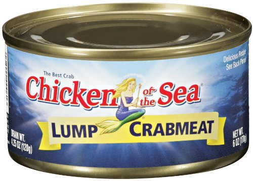 Chicken of the Sea Lump Crab 6oz Can (Pack of - Chicken Meat Crab