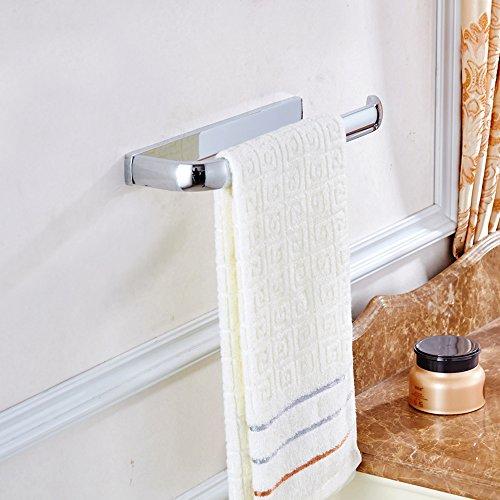 Towel Ring Open with Bar Rack Paper Towel Holder Bathroom Ha