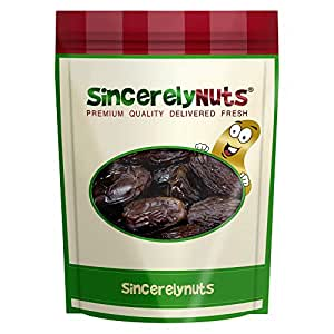 Sincerely Nuts Large Medjool Dates - One Lb. Bag - Rich Flavor - Mouthwatering Freshness - Plump and Moist - Highly Nutritious - Kosher Certified
