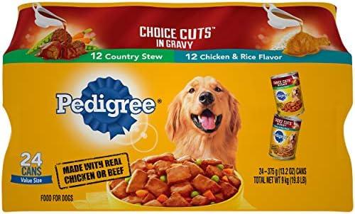 [Pedigree]페디그리 닭고기맛 성견용 습식 24캔