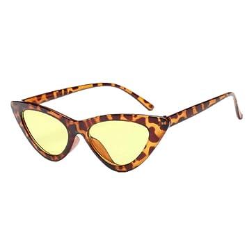 YYXXZZ Gafas de sol Cat Eye Triangle Gafas de Sol Mujer ...