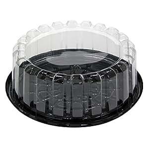 Amazon Com Pactiv Yeh8 9702 7 Inch Plastic Black Base