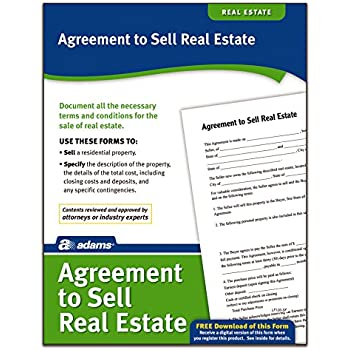 adams agreement to sell real estate forms and instructions lf120