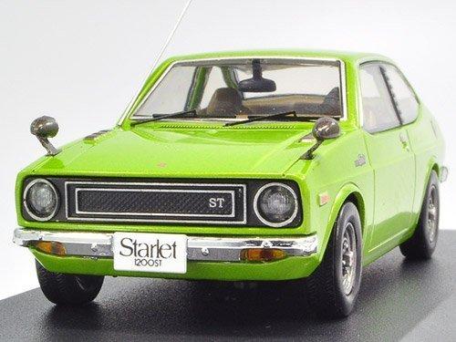 1/43 トヨタ スターレット1200ST 1973ライトグリーンメタリック KBI058の商品画像