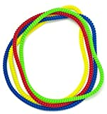 Chew Necklace Sensory Jewelry - Fun Sensory Motor Aid Chewelry for Boys & Girls with Autism ADHD & Sensory-Focused Needs - Oral Motor Chewing Biting Teething Help - Chewable Jewelry (4)