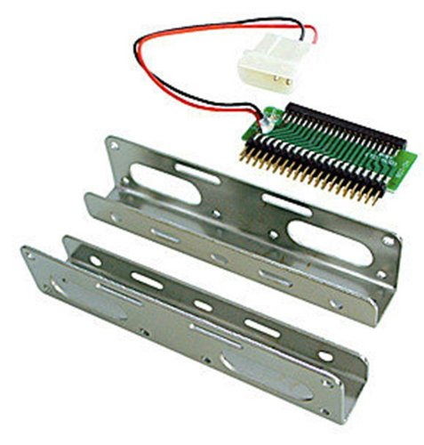 Lindy Universal 2.5 HDD to 3.5 Rail Mounting Kit (40558)